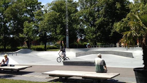 Skateparken i Trelleborg